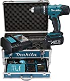 Avis sur la perceuse à percussion Makita DHP453RFX2 perceuse à percussion makita dhp453rfx2 - image - Perceuse à percussion Makita DHP453RFX2