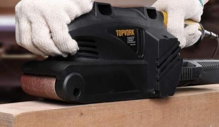 Ponceuse à bande Topvork 600W