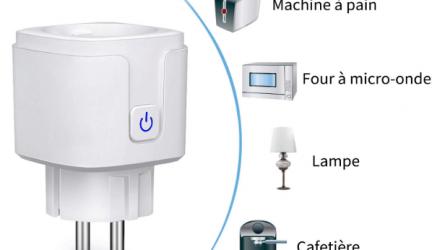 Une prise intelligente pour gérer au mieux vos appareils électriques